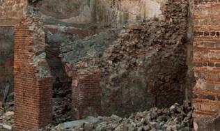 Pompei, crollo «mai visto» nella Casa di Ganimede