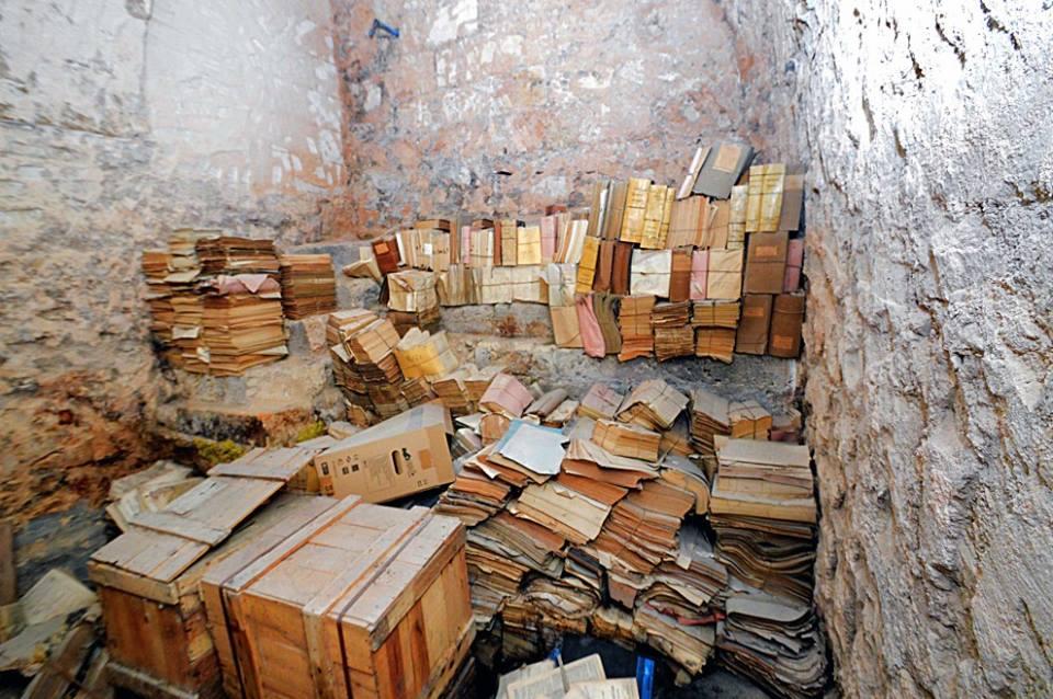La fine dell'archivio dei tesori pugliesi