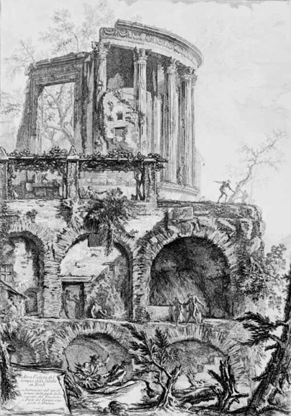 Tempio della Sibilla in Tivoli